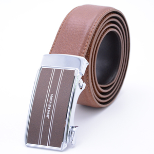 China suppliers custom automatic buckle full grain men boxing leather belts