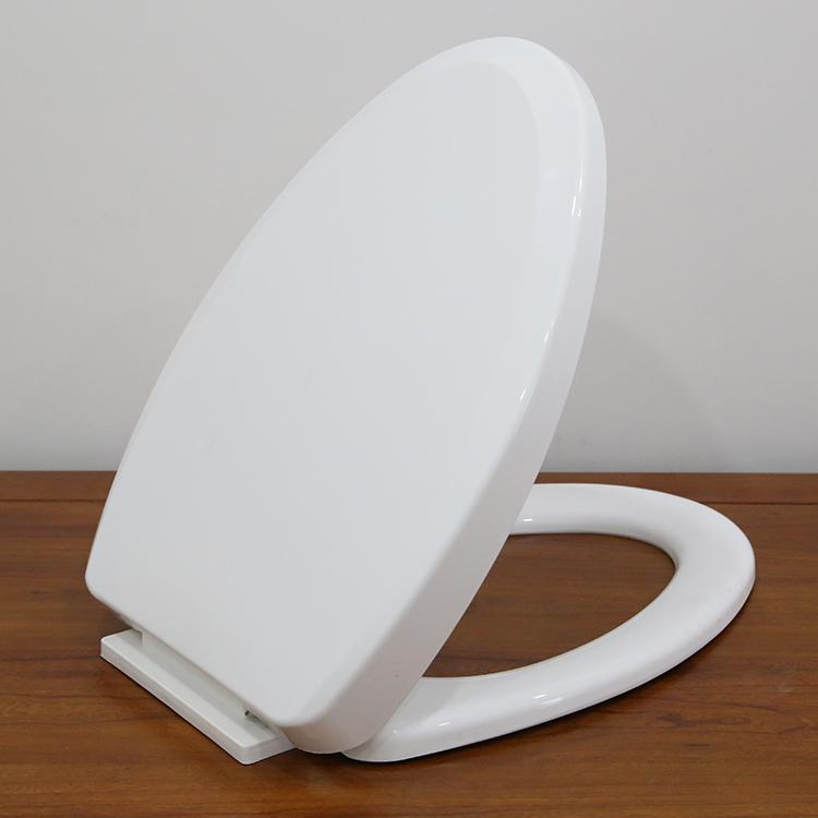 Stainless Steel Hinge Soft Close Toilet Seat