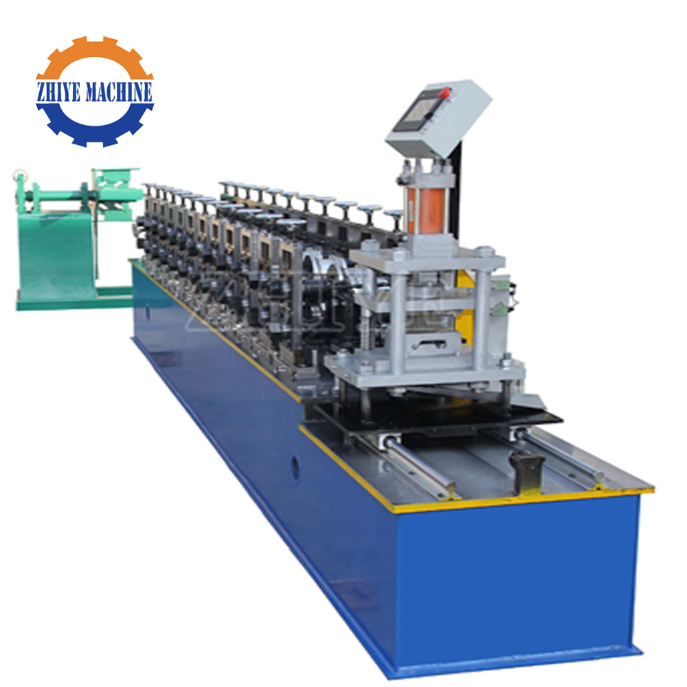Automatic High Quality Galvanized Sheet Metal Roller Shutter Door Roll Forming Machine