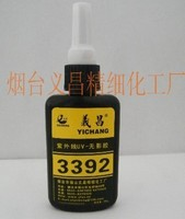 UV glue for bonding glass table
