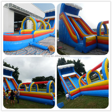 2016 High quality inflatable water slide