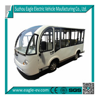 Electric mini bus, aluminium hard door,14 seats EG6158KF
