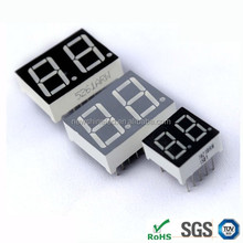 TWO 2 digit 7 segment led display 0.40 inch led digital display Red led 7 segment display from digital signage vendors