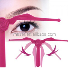 Eyebrow cosmetic measuring tool eyebrow ruler for starters