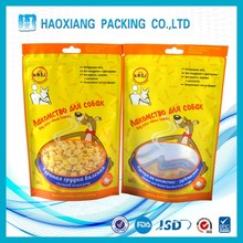 Food packaging plastic bag standup zipper bag best selling hot chinese products