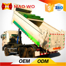 Hot Sale 290-340HP 6x6 used sand carrying tipper trucks