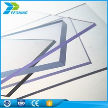 2017 Cheap pc polycarbonate sheet transparent roofing sheet embossed pc sheet