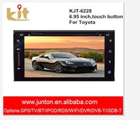 touch screen double din car dvd gps navigation Entertainment system