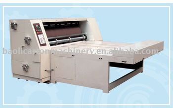 1600 model corrugated paperboard rotary die board cutting machine / semi auto die cutting by wooden die cutting mould
