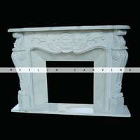 Meilin Carving plastic fireplace mantle