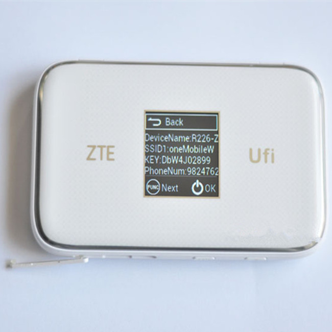Unlock 300Mpbs Cat6 4G LTE Router ZTE MF970 With <strong>Sim</strong> Card Slot