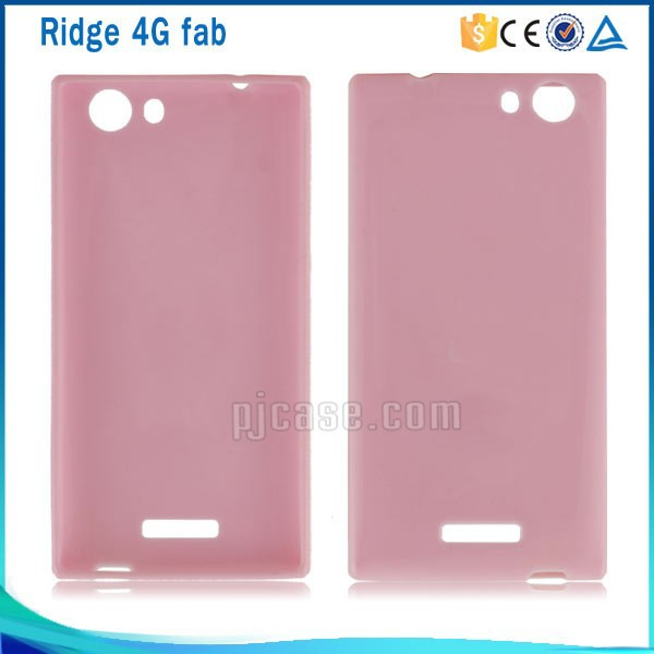 Soft Pudding Tpu gel case cover for Wiko Ridge 4g fab, for Wiko Ridge 4g fab Tpu case