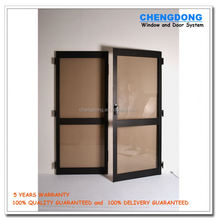 2016 simple design double shed steel fire doors