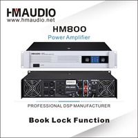 HM800 China supplier Professional Sound Digital Pro Audio Concert Power Amplifier