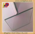 High visible distortion float glass for the sliding door