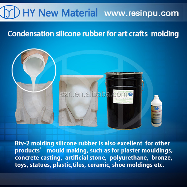RTV-2 mold HTV 3 Duplicating Gel Rubber Liquid Silicone for Platinum