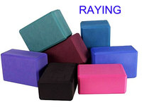 Wholesale Raying 2016 New Material High quality EVA foam brick Yoga Block