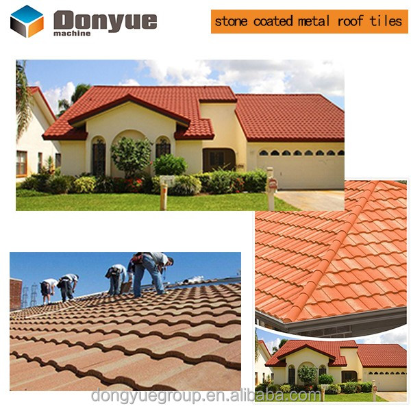 metal roofing manufacturers/stone coated steel roofing/Popularly in Saudi Arabia shingles