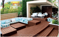 2015 HOT SALE China wpc board composite flooring decking material with great price