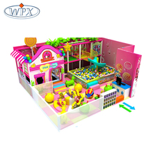 Large new design modular amusement indoor playgrounds equipments