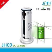 JIMI 3G Wi-Fi Double Network Motion Activated Security Camera with sd card