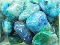 Natural Chrysocolla Tumble Cabochon Hot Semi