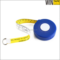 ODM/OEM Building Construction Tools Auto Retractable Custom Pipe PVC Diameter Measuring Tape