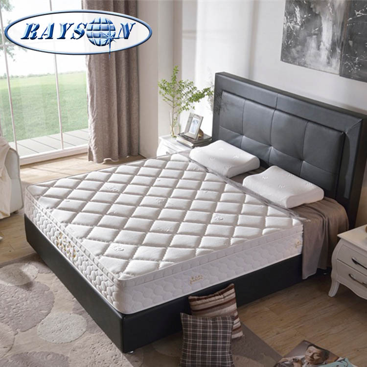 King Size Double Bed Mattress Cheap Price Palm Fiber Coconut Coir Fiber Pocket Spring Mattress - Jozy Mattress | Jozy.net