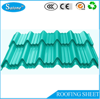 2016 Best price Corrugated Steel Roofing sheets glazed metal roof tile