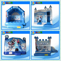 2016 Frozen Inflatable Jumping Castle (6 new types), cheap frozen bounce house
