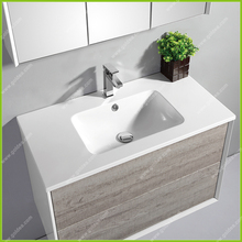 high quality modern wall mounted bathroom cabinet Top grade unique design goldea bathroom furniture