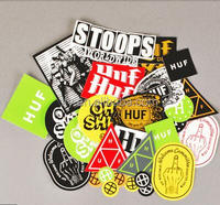 Custom Printing Cool Graffiti Vinyl Stickers Decals mixed pack