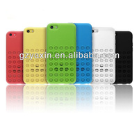 Novel style hard plastic cases for iphone 5c