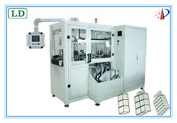 Full auto high speed wet wipes machine for babys wet tissue folding and packing machine