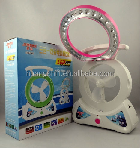 4 inch rechargeable mini fan CE ROHS certification good selling with best price mini table fan