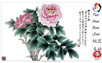 Flowers Handmade Painting 3D Canvas Single Panel Home Decoration Wall Art with Size 72x42cm