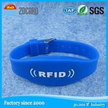 Professional long range writable passive design your own silicone wristbands