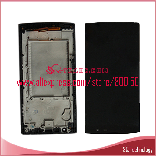 New Products LCD For LG H502 H502f LCD Screen +Touch With Frame Black Color