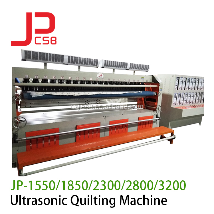 After-sale service afforded automatic ultrasonic industrial mattress quilting sewing  machine price