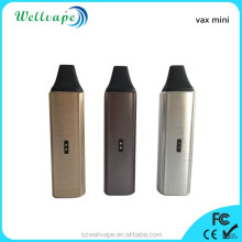 Best 3000mAh adjustable temp vax mini rechargeable dry herb electronic cigarette hookah