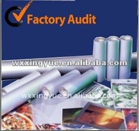plastic laminating roll film