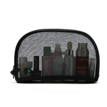 New promotion mesh cosmetic gift bag custom travel