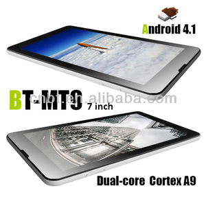 cheap tablet pc skype video call 3g gps wifi bluetooth with Dual SIM Dual core
