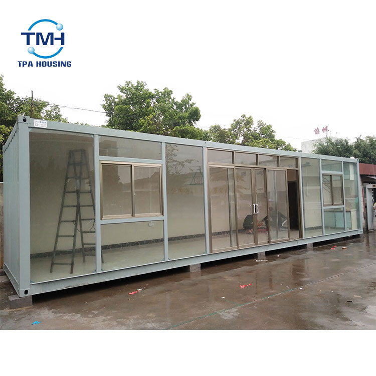 Steel Construction Container Homes Prefabricated