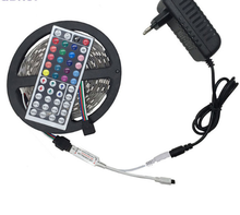 5050 <strong>RGB</strong> LED Strip Waterproof DC 12V 5M 300LED <strong>RGB</strong> LED Light Strips Flexible with Power and Remote Control