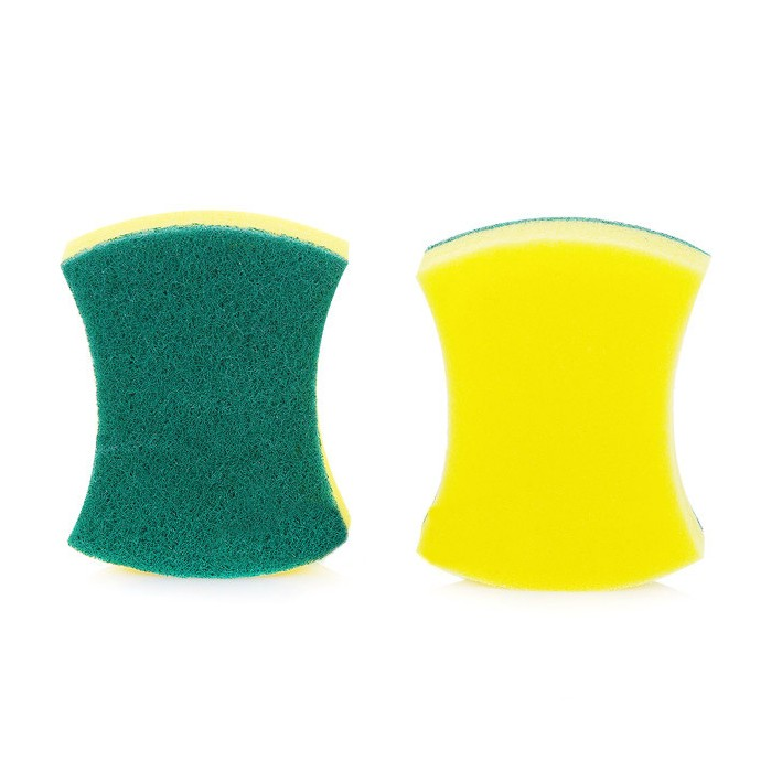 Magic Colorful Kitchen Cleaning Sponge With Souring Pad