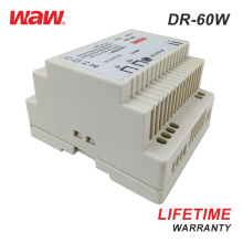 WODE China 60W 12V 5A Led Driver Ac-Dc Din-Rail Power Supply For Communication
