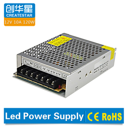 Factory direct sale 12V 10A 120W power supply