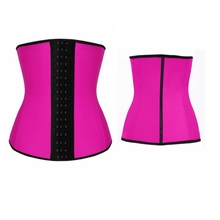 Men And Women Waist Trainer Full Body Shaper Latex Waist Trainer Belt Corset