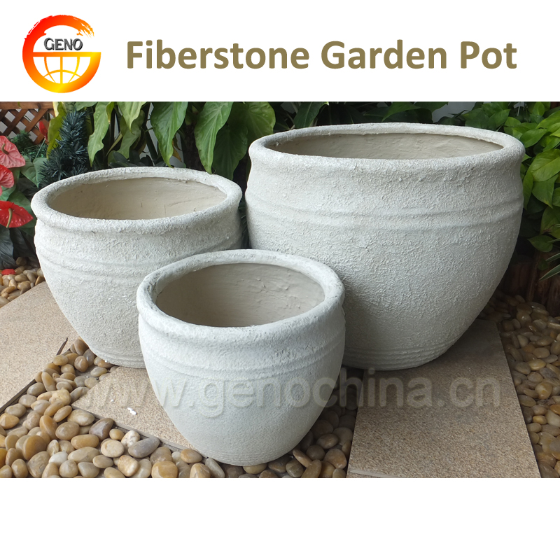 antique white frost resistant garden planter